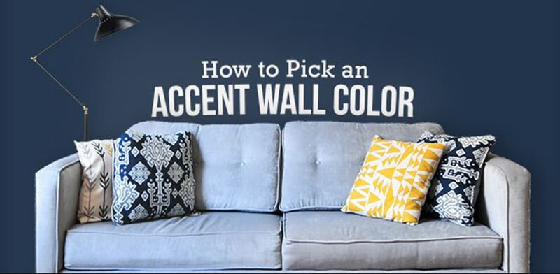 The Way to Pick The Best Accent Wall Colors
