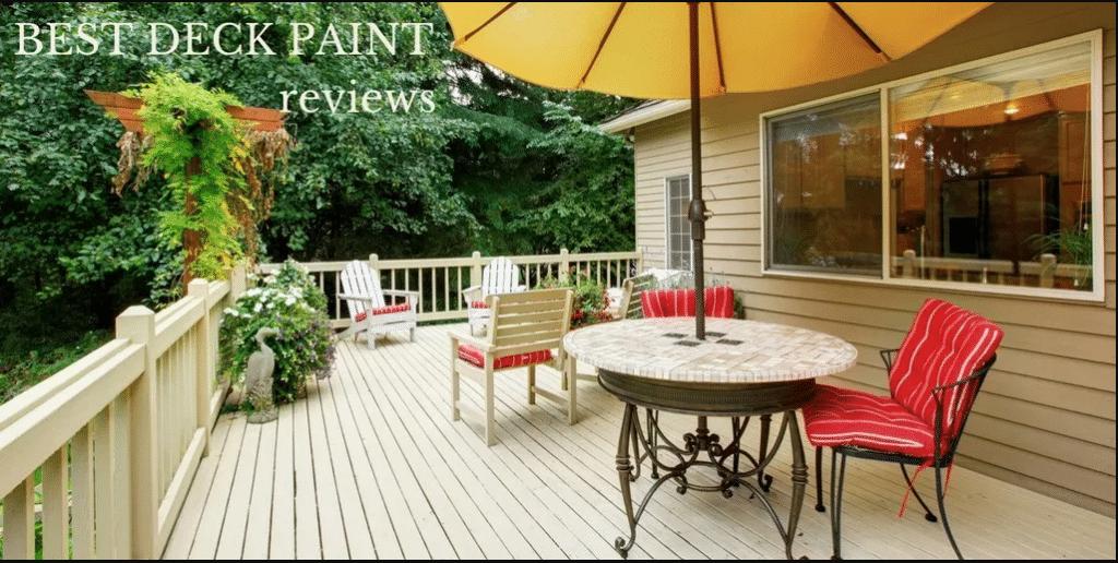 Top Best Deck Paint 2020