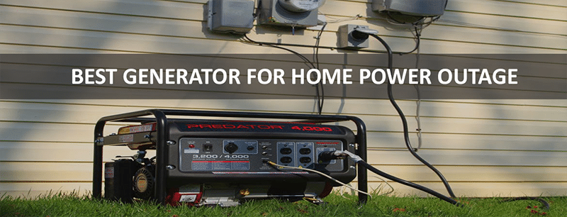 best generator for home